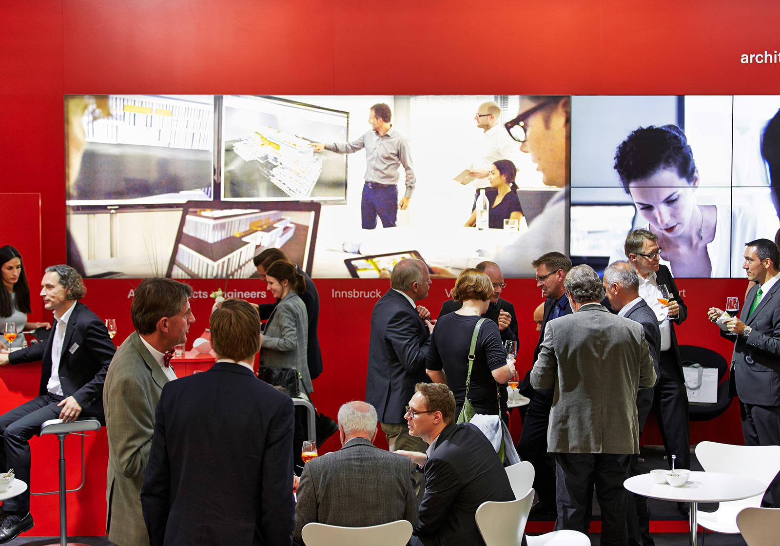 The presentations, lectures and discussions at ATP's stand were highly frequented. Photo: ATP/Becker