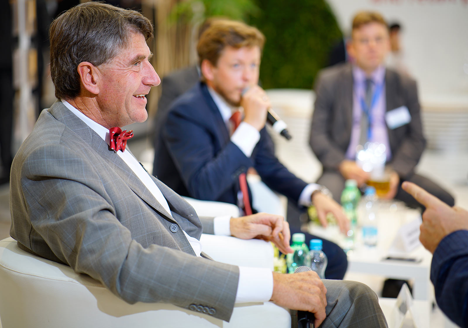 Christoph M. Achammer, CEO of ATP, during the round table discussion. Photo: Ulmart