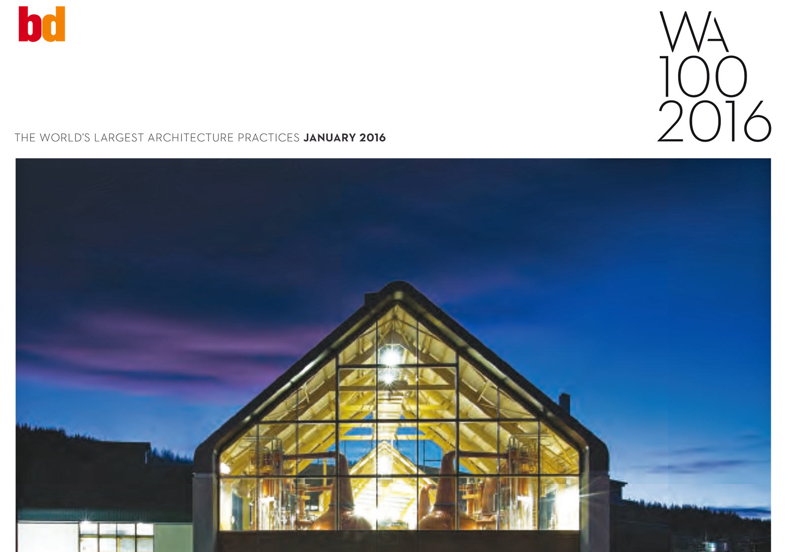 Foto: Building Design´s annual survey of the top global practices