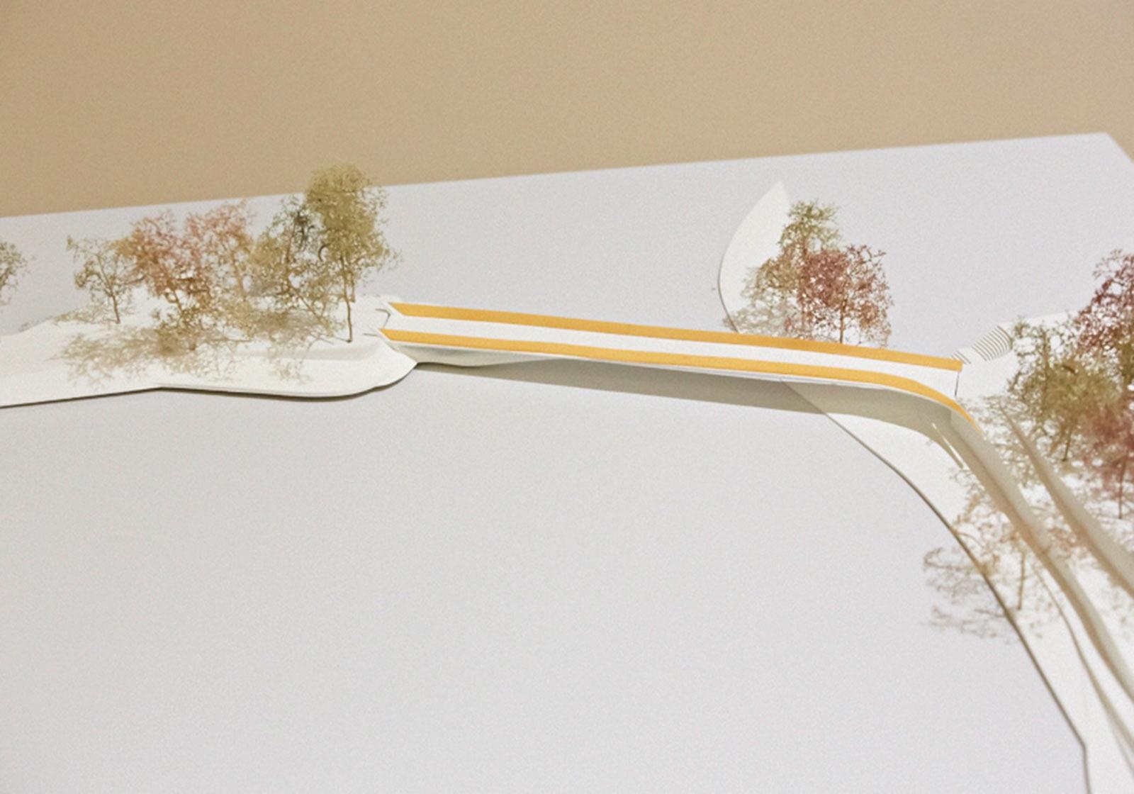 """1. Preis, """"Birnerschweb"""" Architektur / TU-Wien: Christopher Emil KREMINGER, Dominic MIMLICH Bauingenieur / TU-Wien: Nikola MARKUNOVIC. Foto: ATP/Jantscher"""