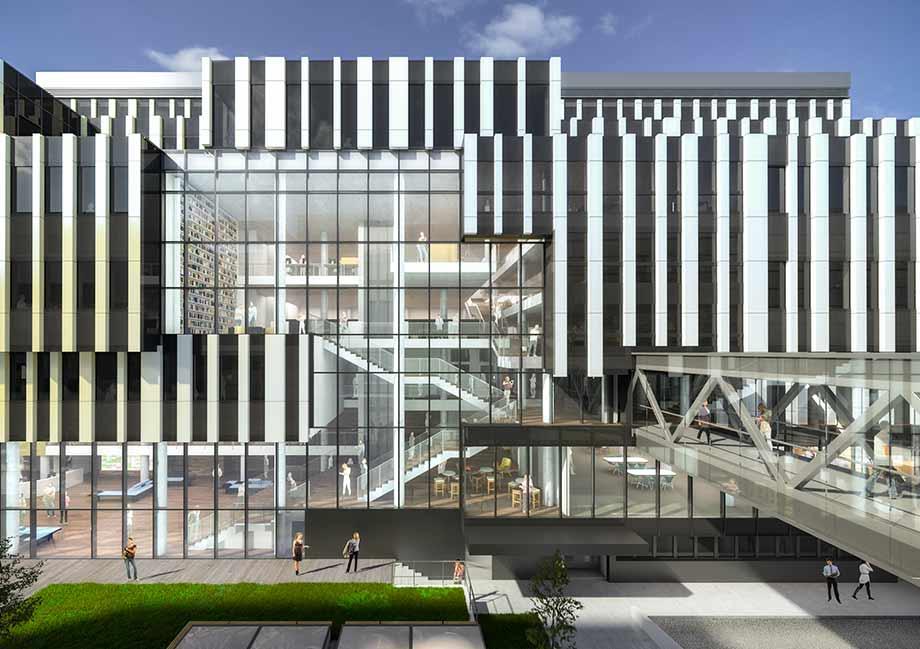 Тендерный проект от ATP Вена убедил заказчика не только дизайном здания, но и функциональностью. Визуализация: ATP/Telegram
