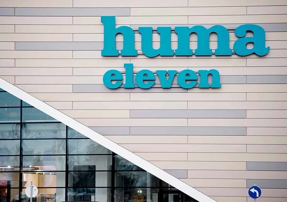 The new huma eleven as a shopping center with over 90 shops, restaurants and service providers. Photo: APA/Martin Hörmandinger
