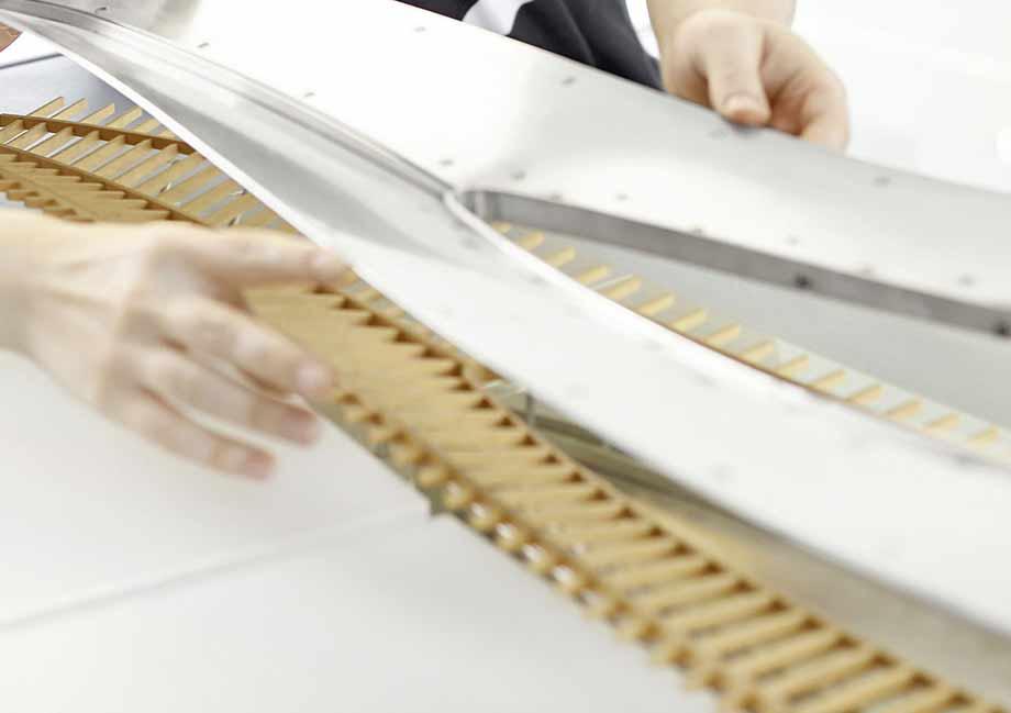 Neue Technologien, Materialien und Formen werden erforscht und entwickelt.
