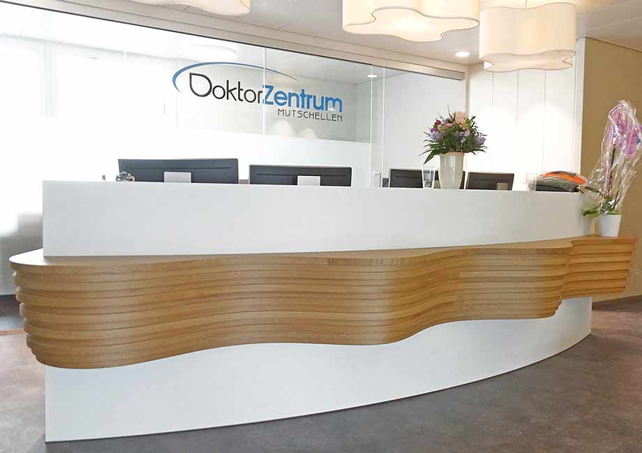Das neue Doktorzentrum Mutschellen. Foto: Sutter Projects