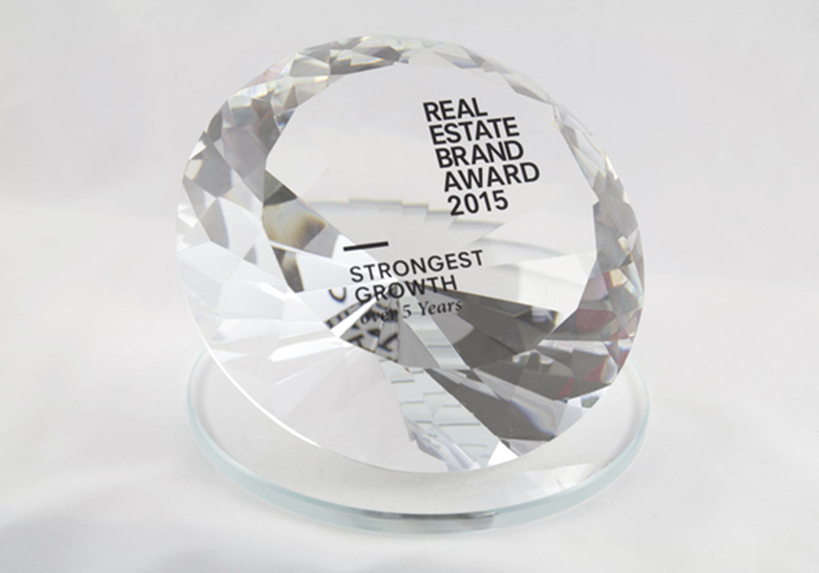 Real Estate Brand Award 2016. Photo:European Real Estate Brand Institute