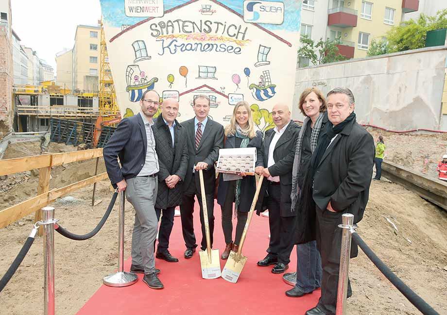 Hannes Achammer, Horst Reiner, Heinz Fletzberger, Barbara Schett, Nikos Bakir, Nora Westphal und Dario Travas. Photo: Katharina Schiffl
