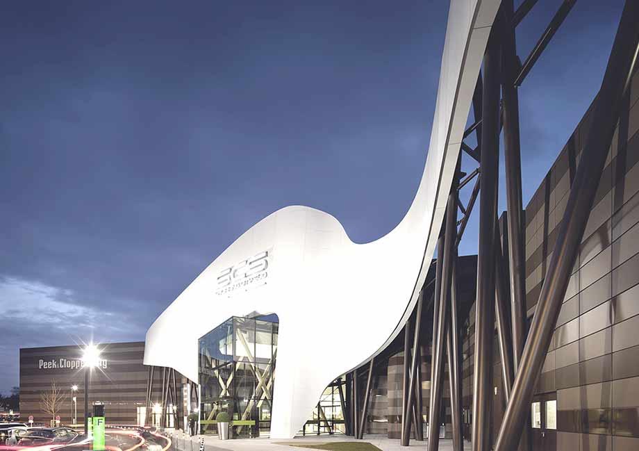 Die SCS wurde zum architektonisch am besten gelungenen Einkaufszentrum Österreichs gekürt. Foto: ATP/Kuball
