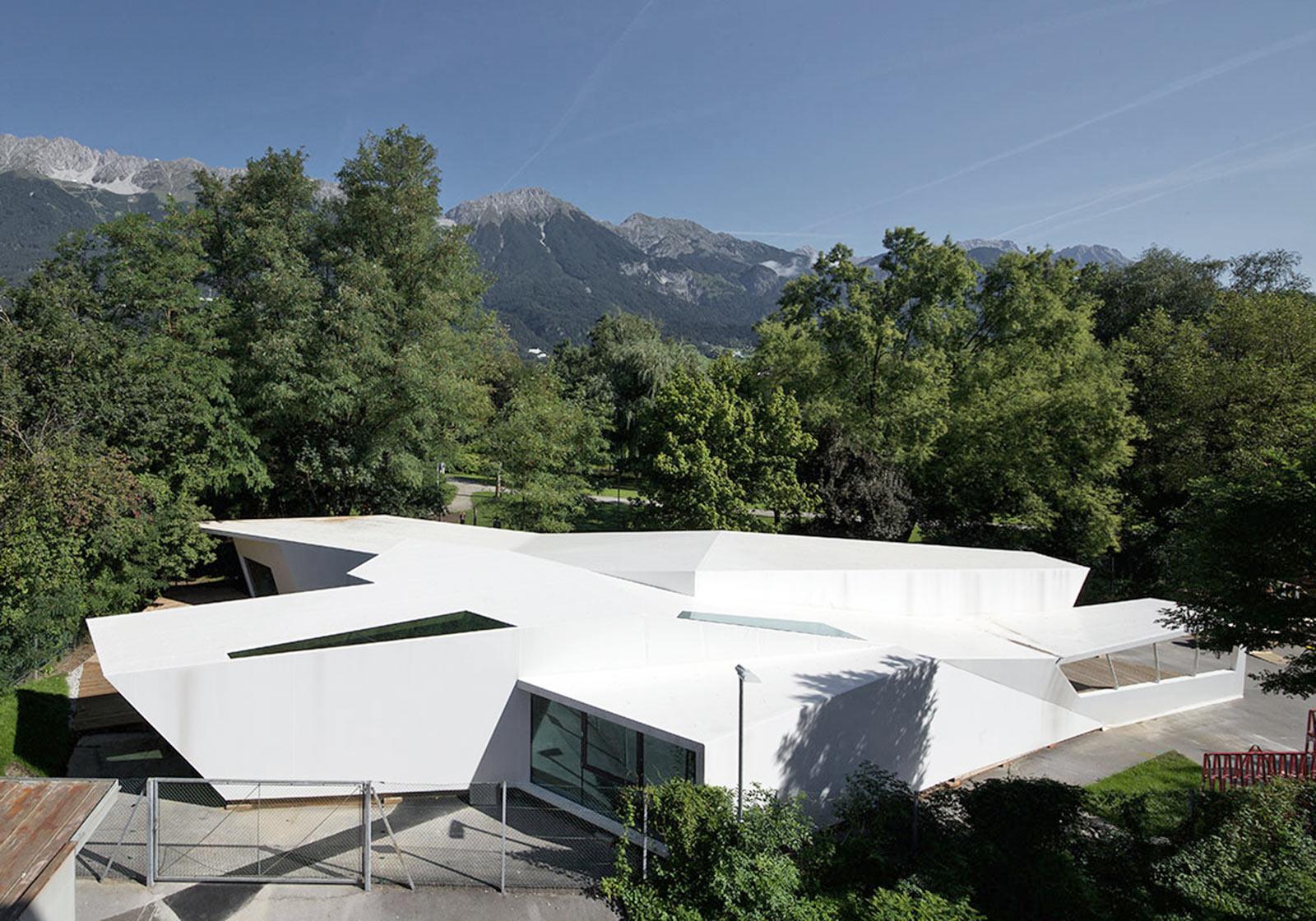 Die Kunst- und Architekturschule in Innsbruck. Foto: bilding/G.R. Wett