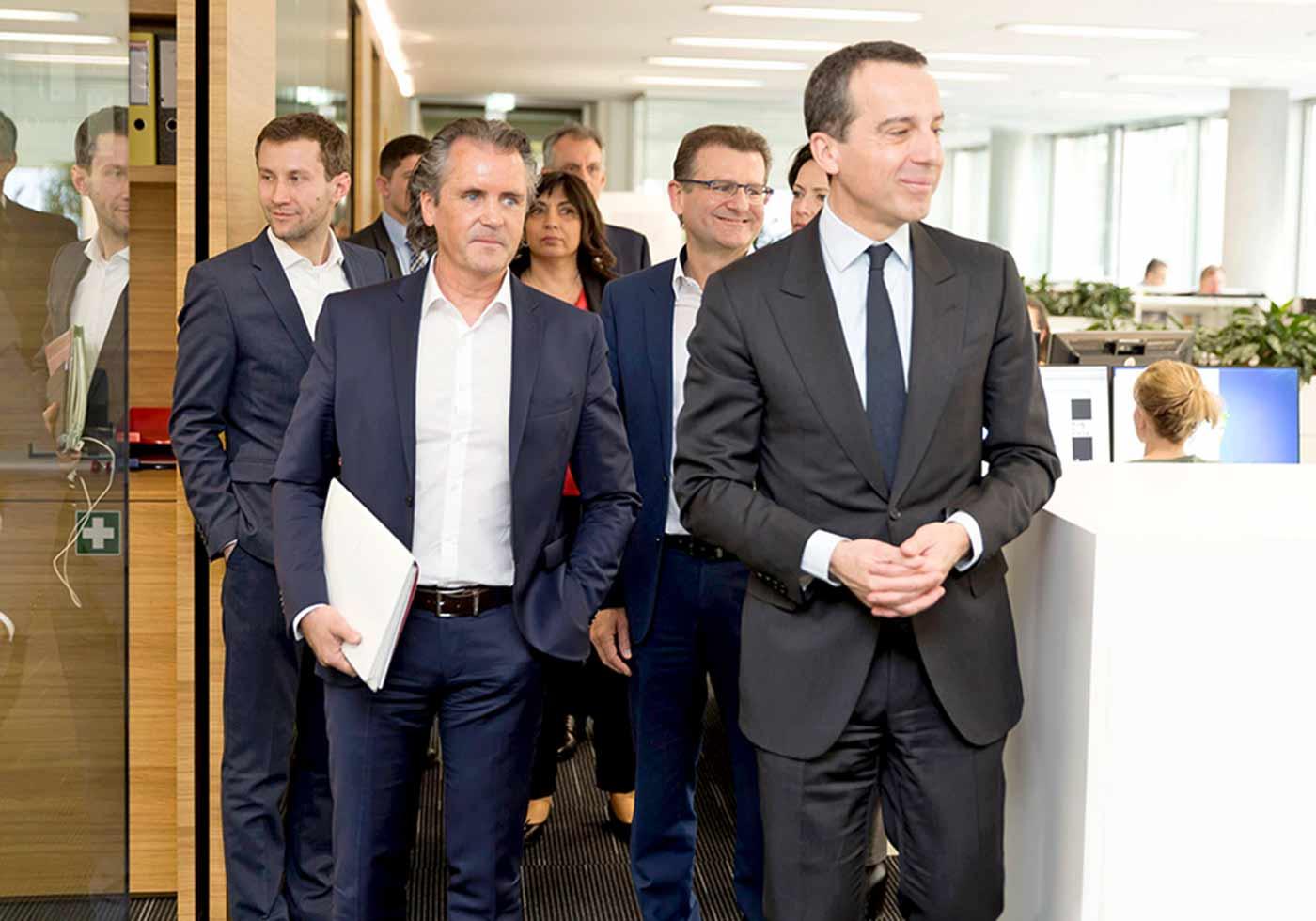 Визит канцлера Австрии в АТР