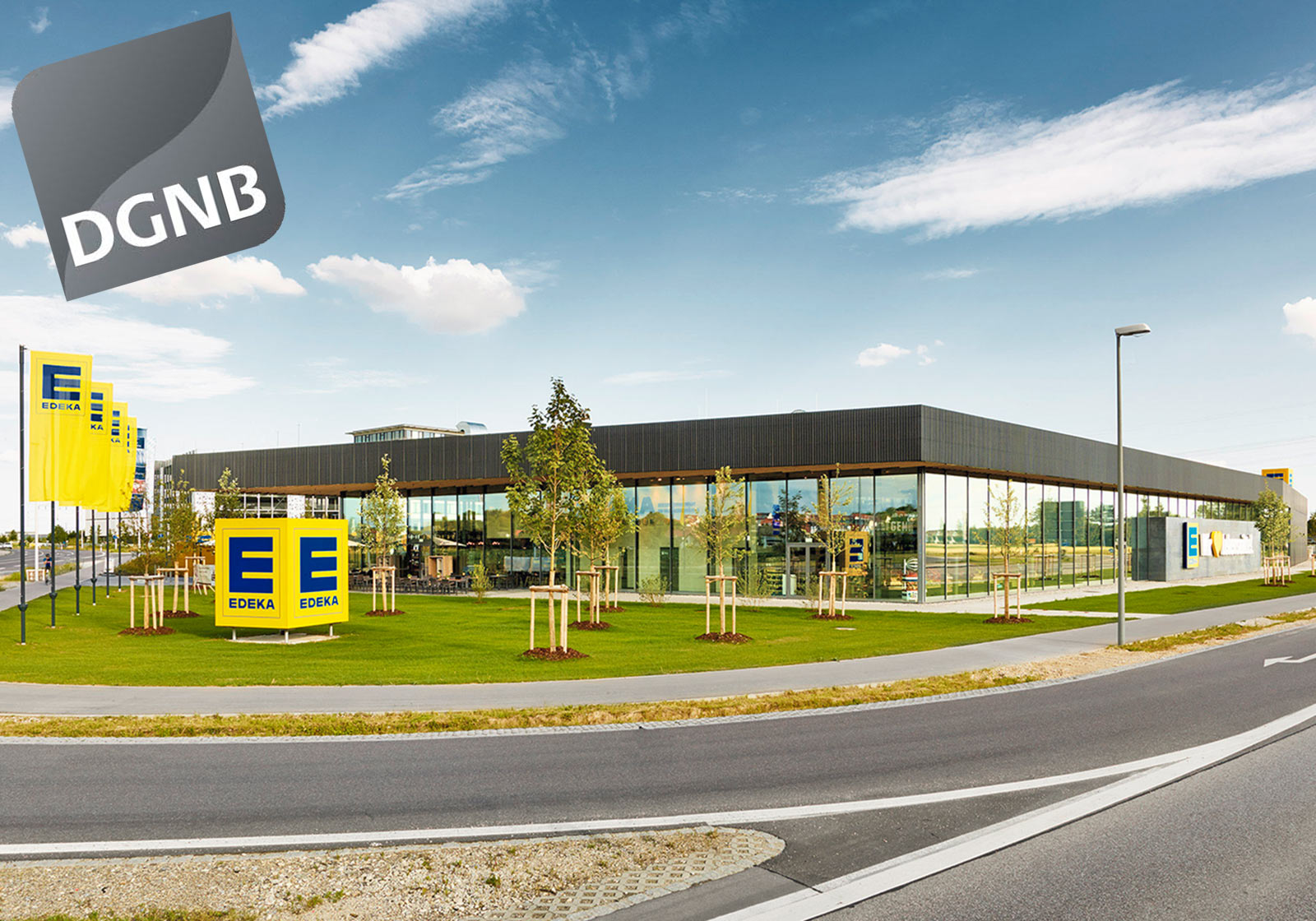 Certified: The E-center in Gaimersheim. Photo: ATP/Becker