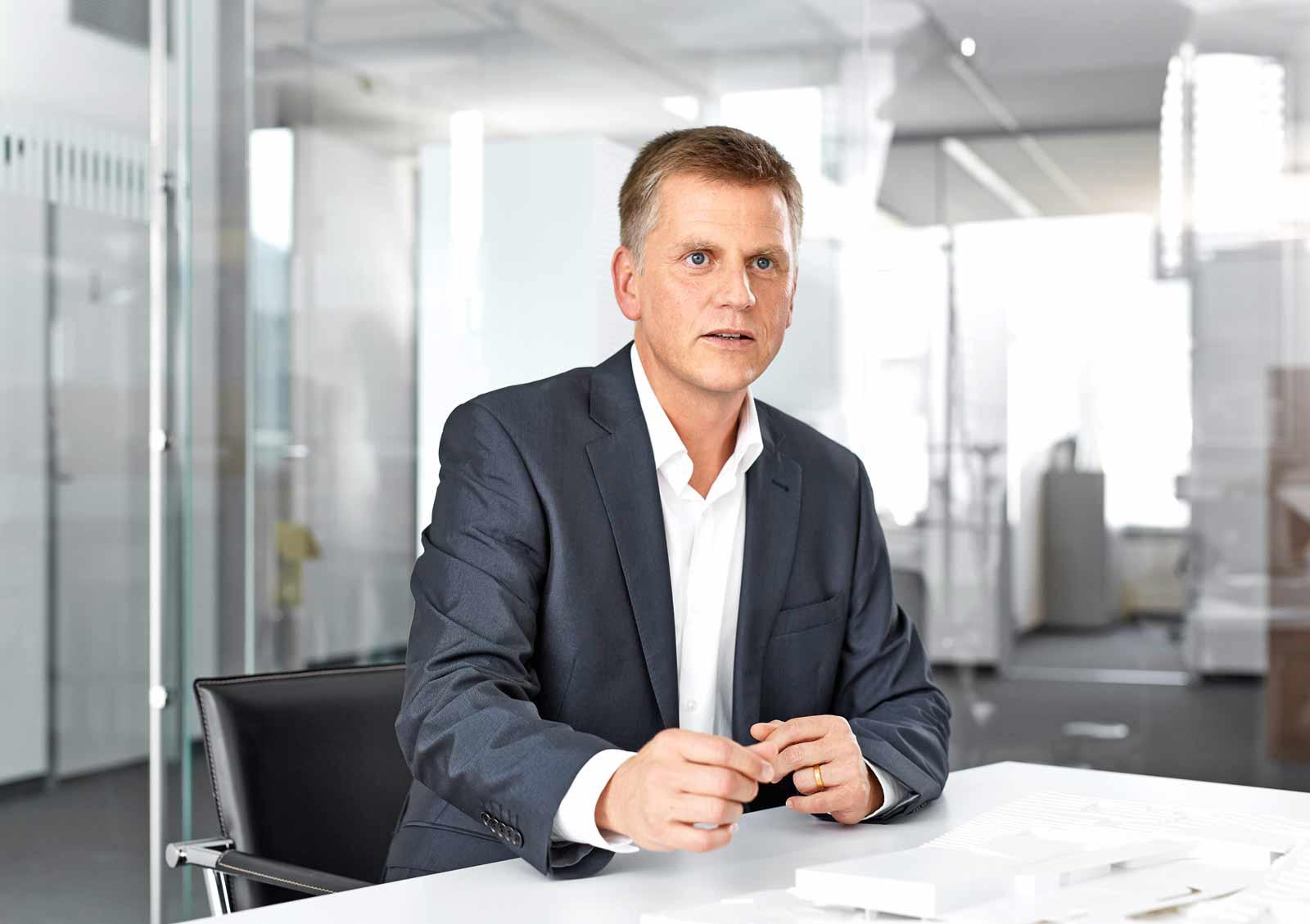 Architekt Dipl.-Ing. Matthias Wehrle, ATP-Partner und Geschäftsführer von ATP Zürich. Foto: ATP/Becker