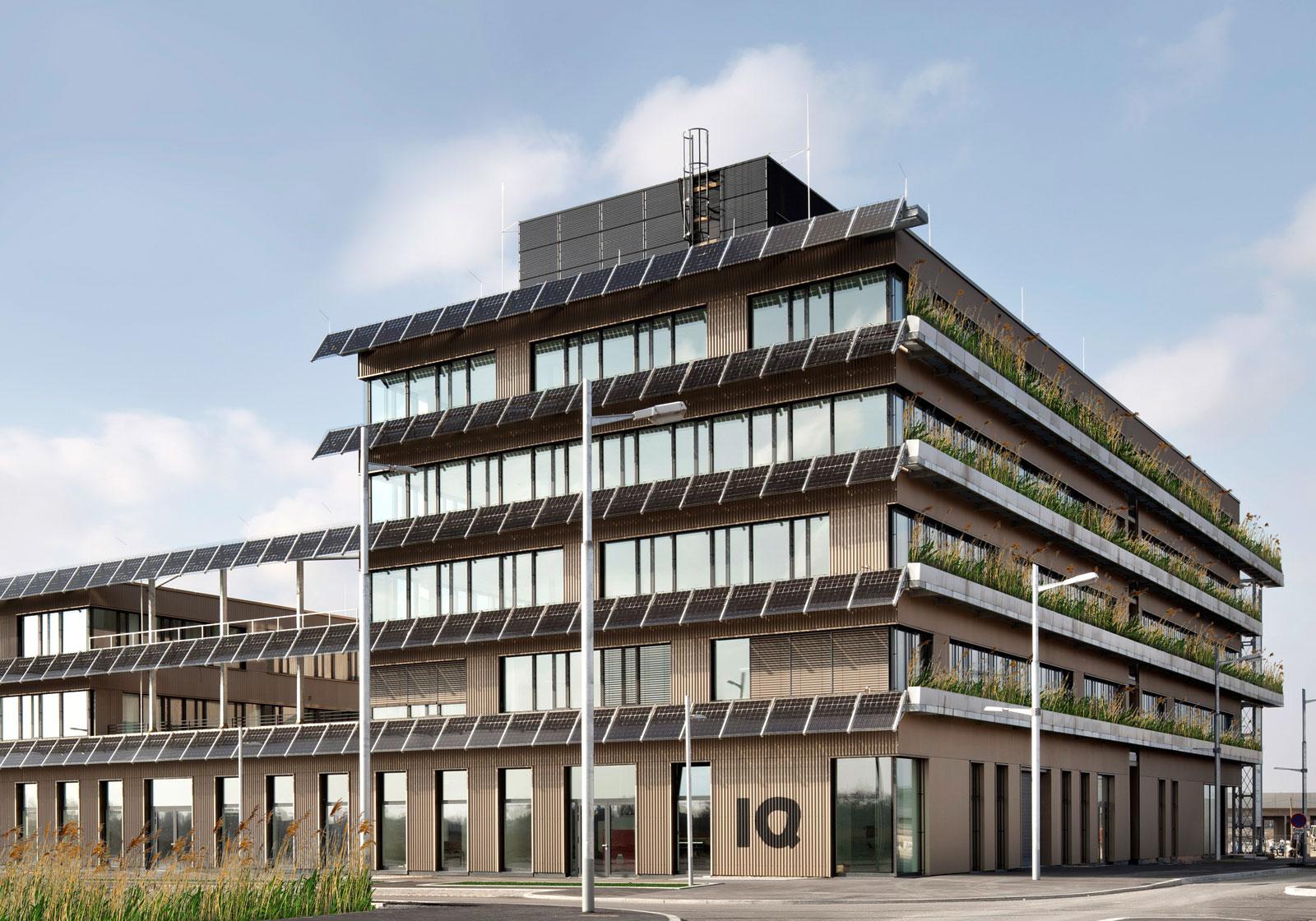Technologiezentrum aspern IQ, Foto: ATP Wien