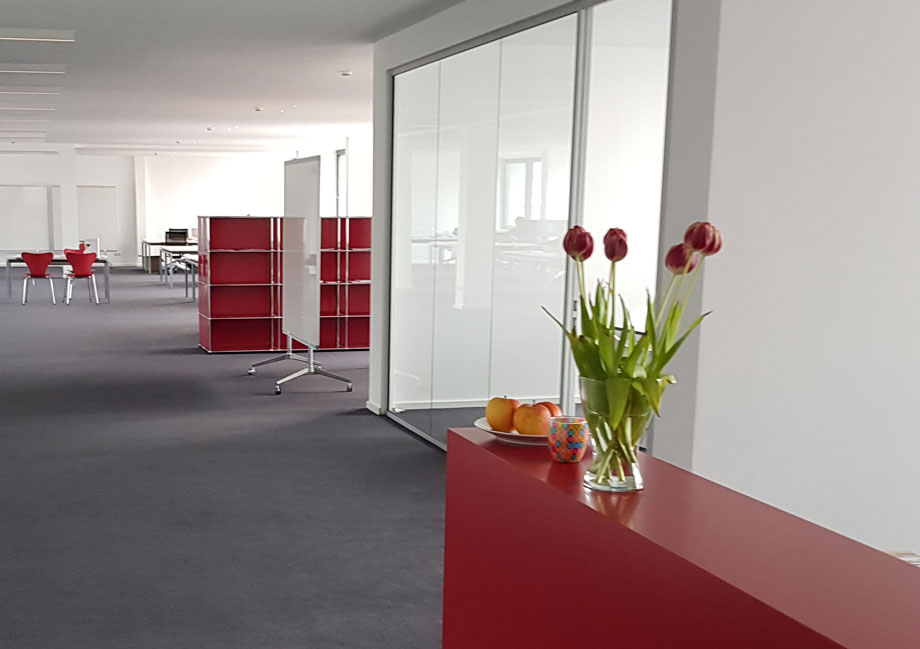 New spaces for integrated design improve the quality of the workplace. Photo: ATP Berlin