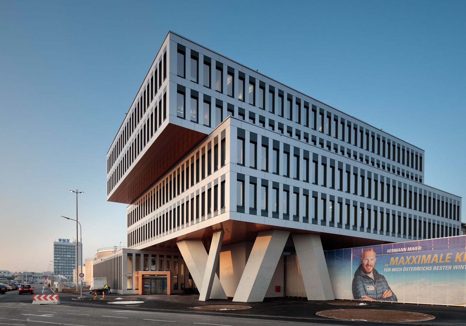 Neues OMV Office Building. Foto: ATP/Kuball