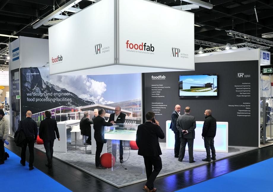 ATP Innsbruck und Foodfab präsentierten sich auf der führenden Fachmesse für Lebensmittelindustrie. Foto: Foto: Frank Jankowski Fotografie