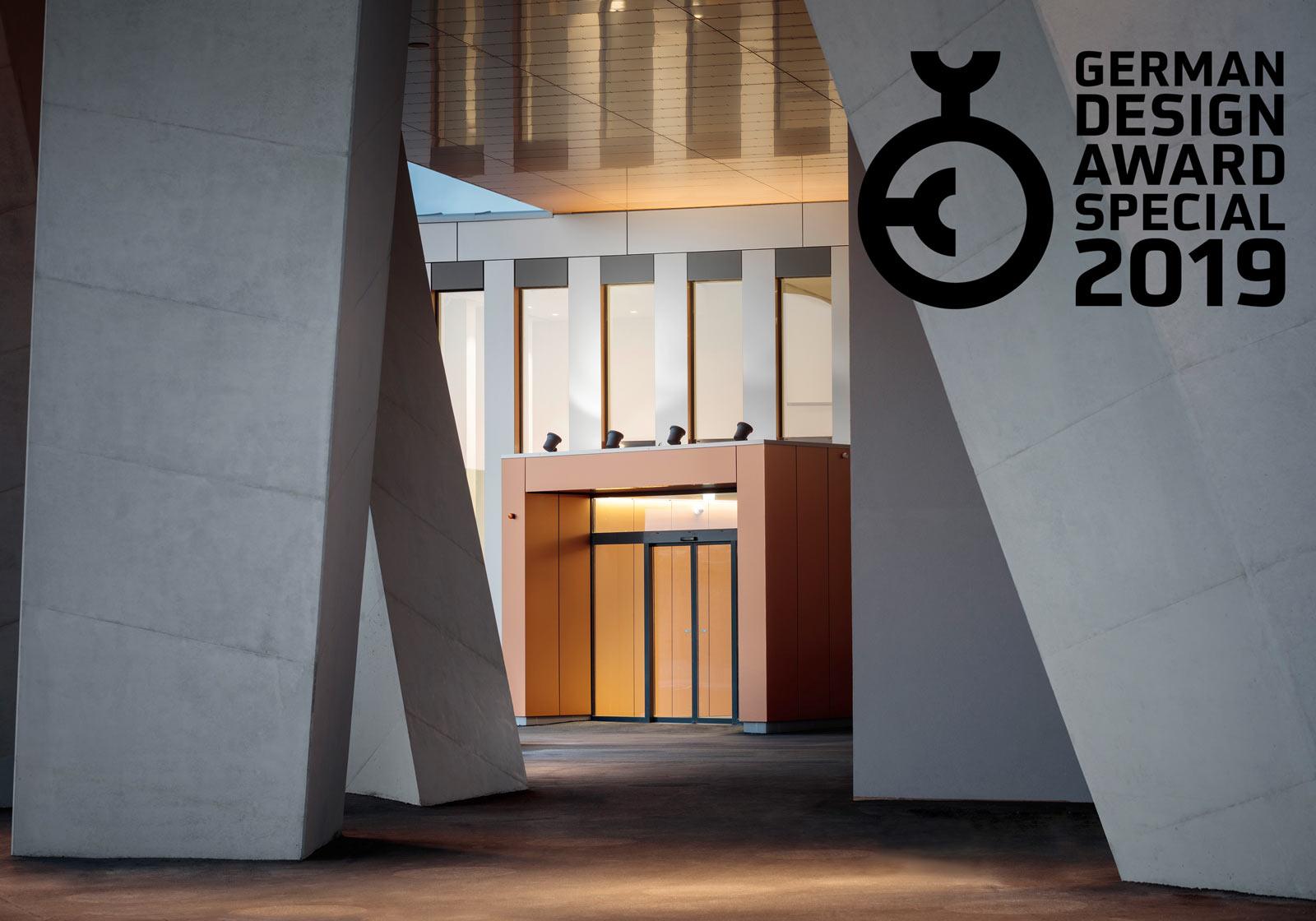 German Design Award for the OMV office building. Foto: ATP/Kuball