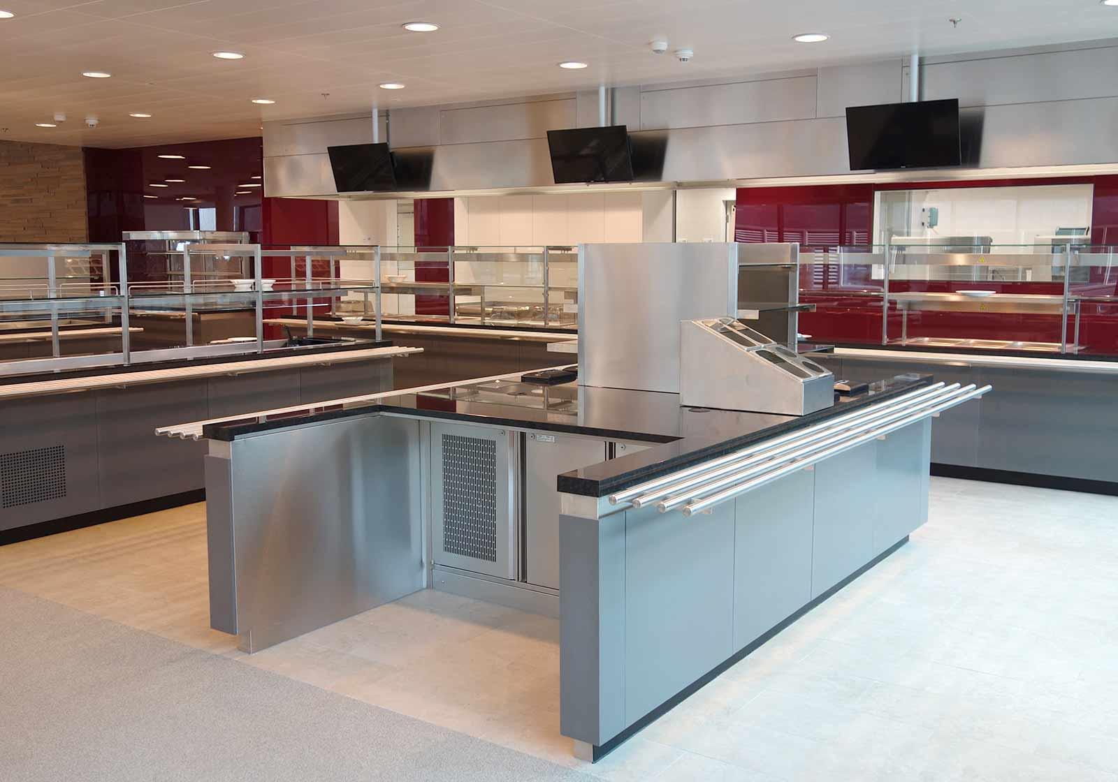Hochmodern zeigt sich das neue Betriebsrestaurant von IMP. Foto: ATP/Wentzler