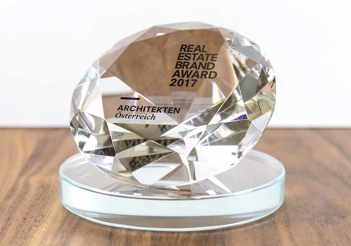 REAL ESTATE BRAND AWARD 2017. Photo: EUREB-Institute/Philip Miram