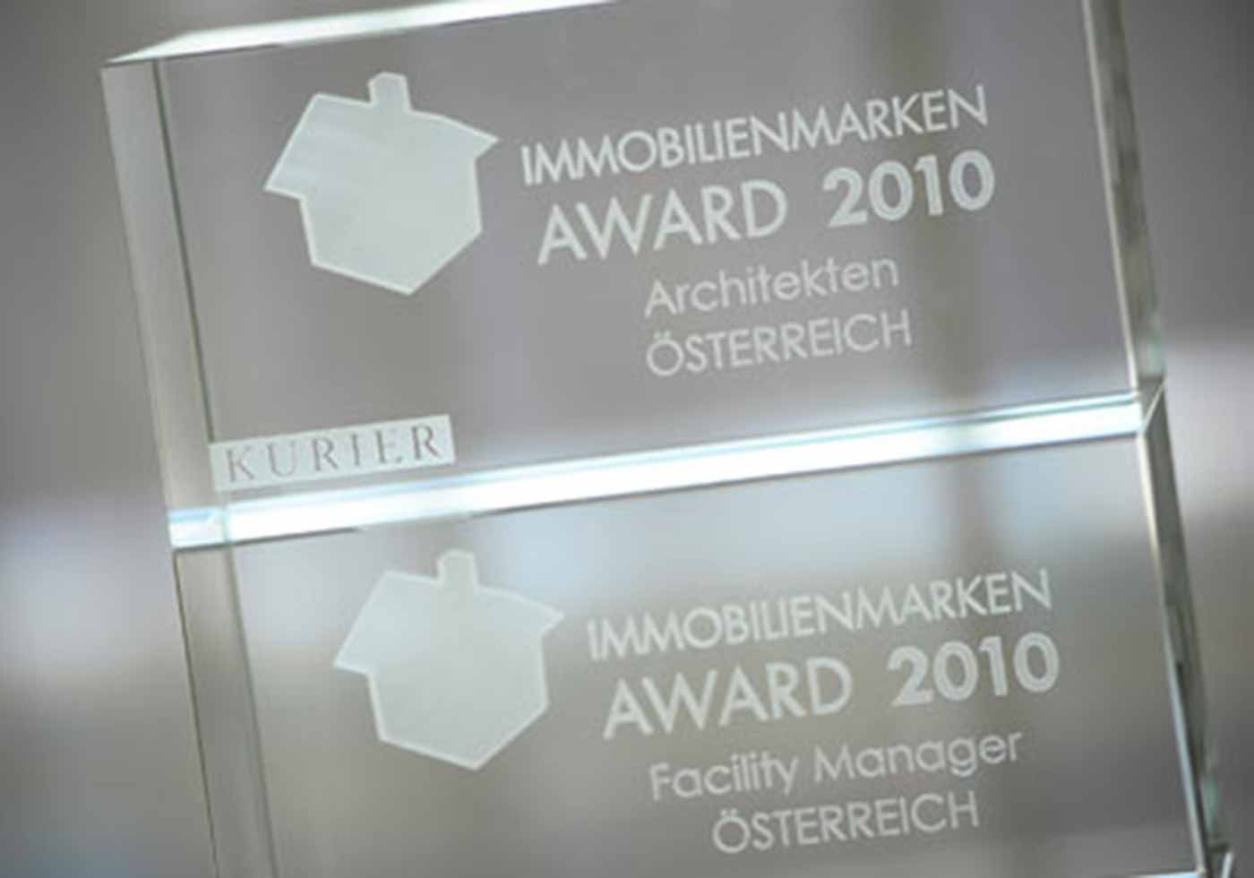 Immobilienmarken-Award 2010, AT