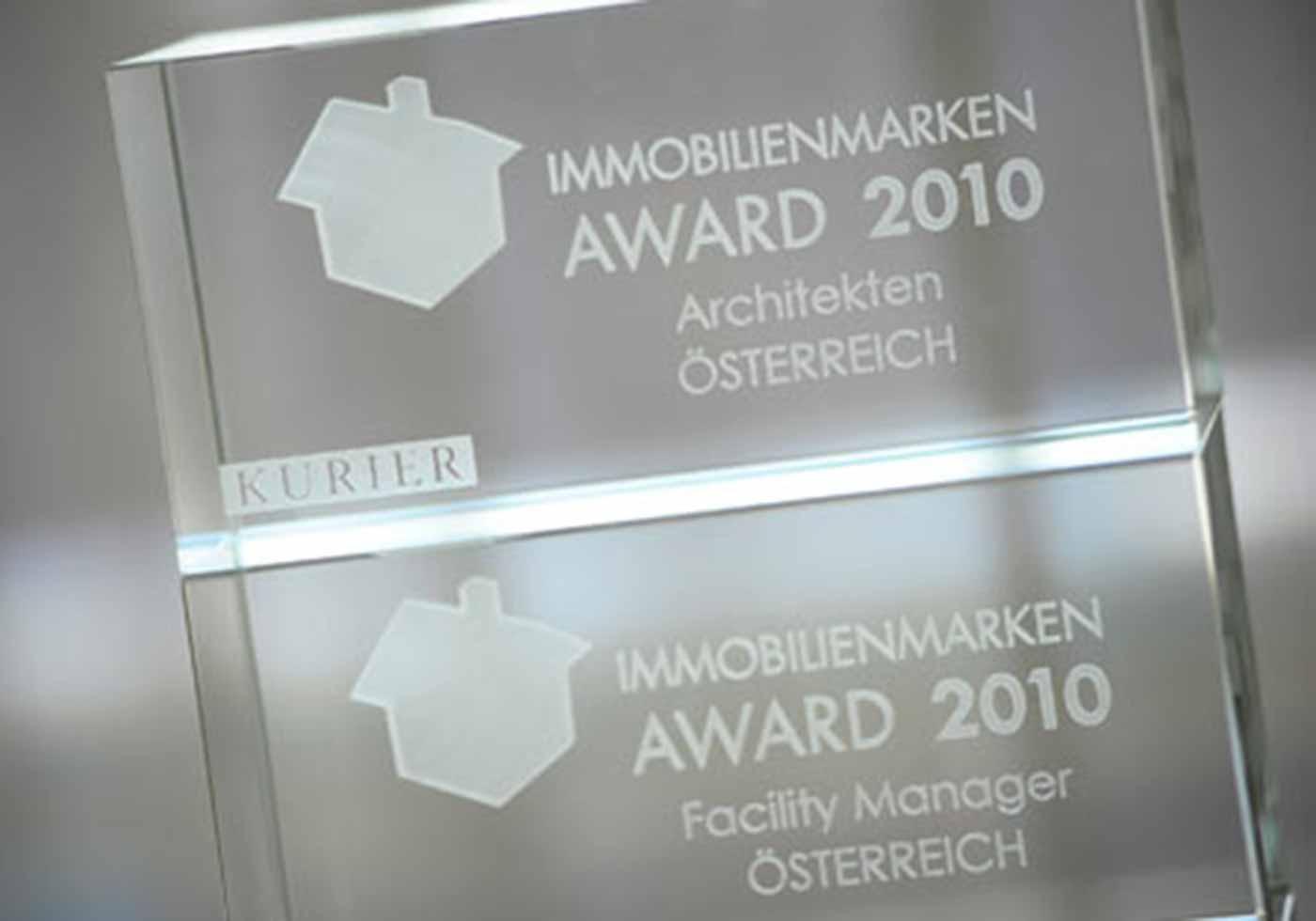 The Real Estate Brand Award 2010, Austria