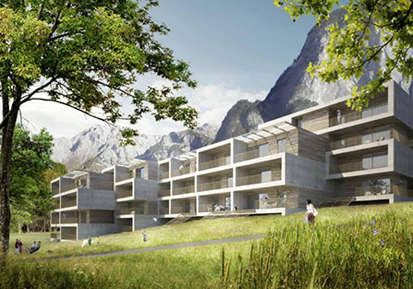 Wohnbau, Anna-Dengel-Straße, Innsbruck, AT