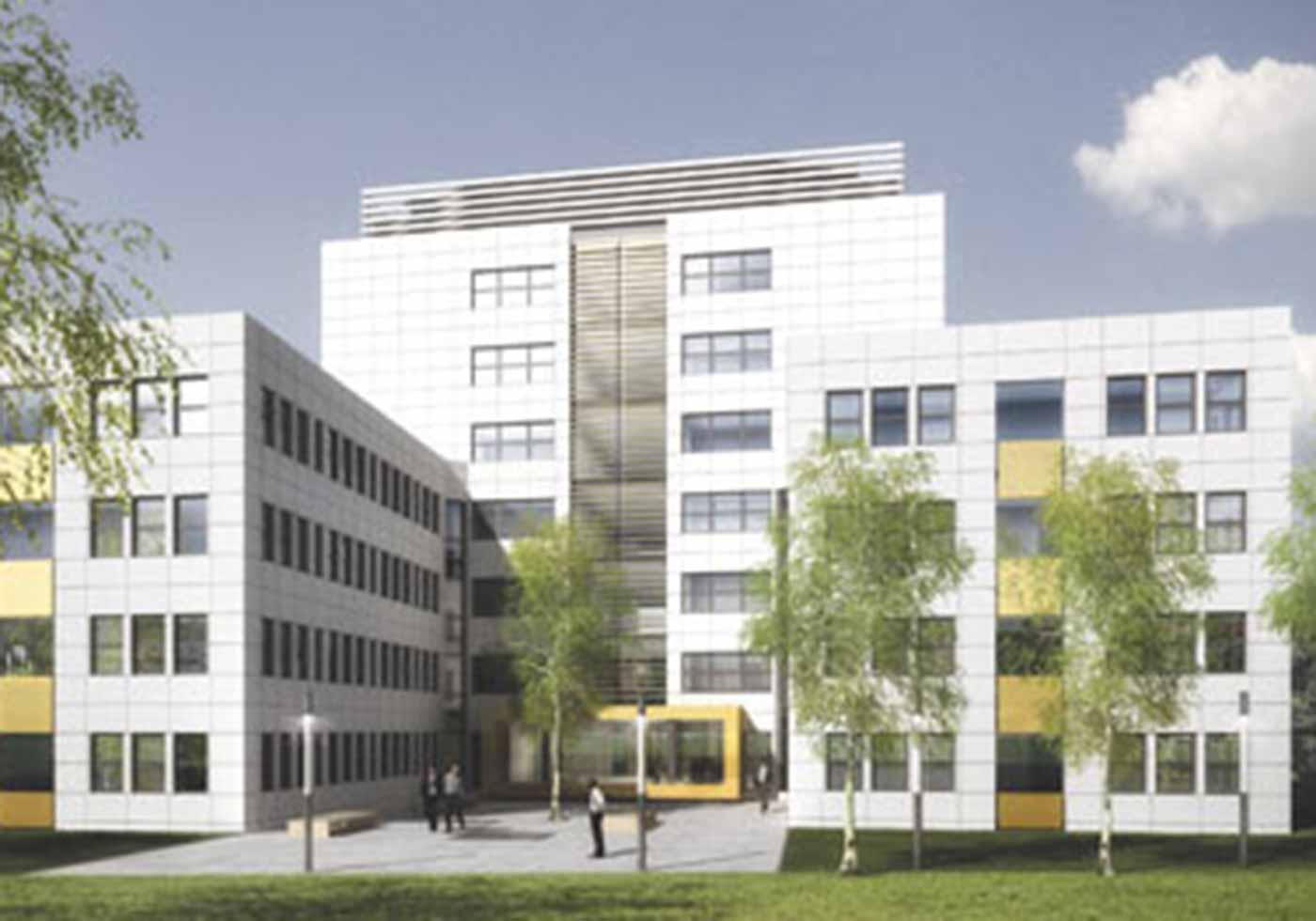 Bürostadt Niederrad, Frankfurt am Main, DE