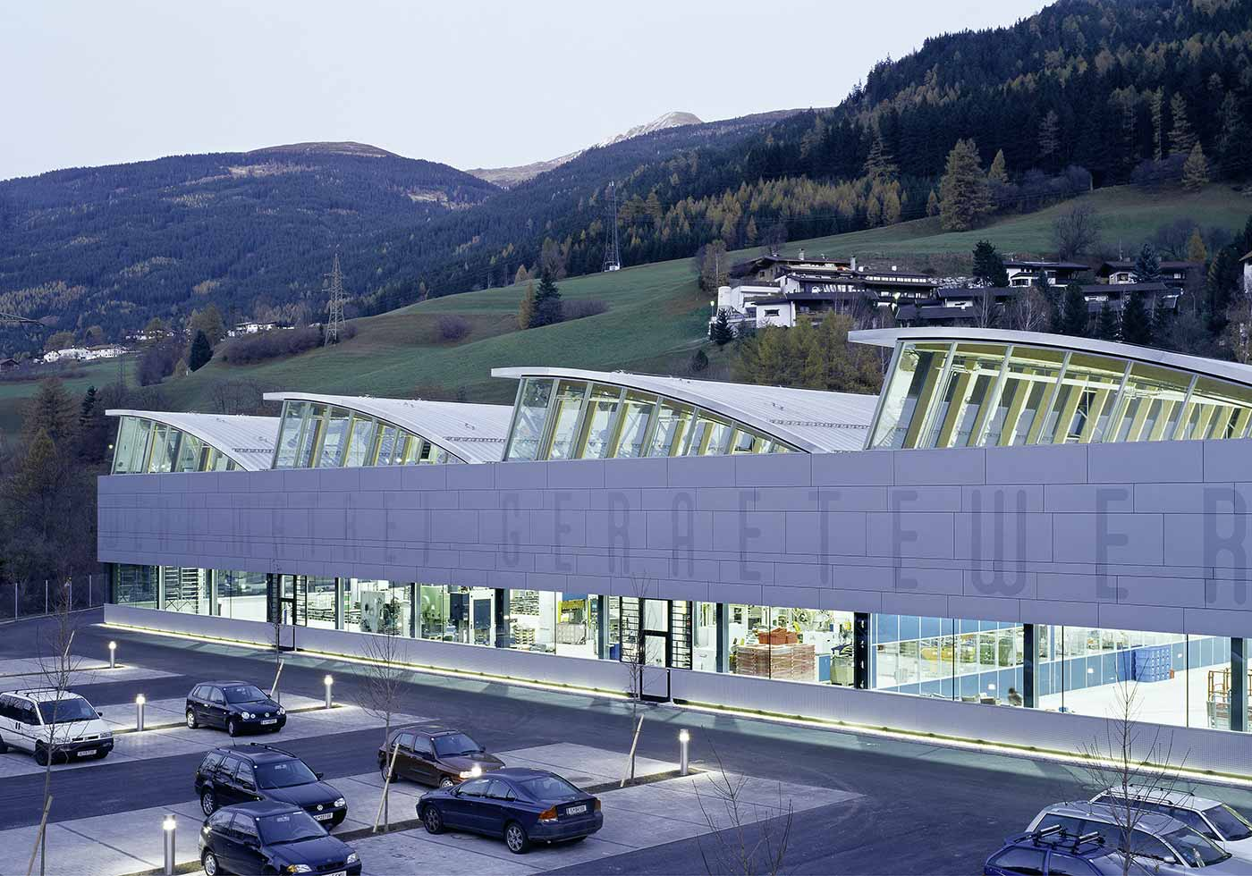 Производственный комплекс Gerätewerk, Матрай-на-Бреннере, Австрия