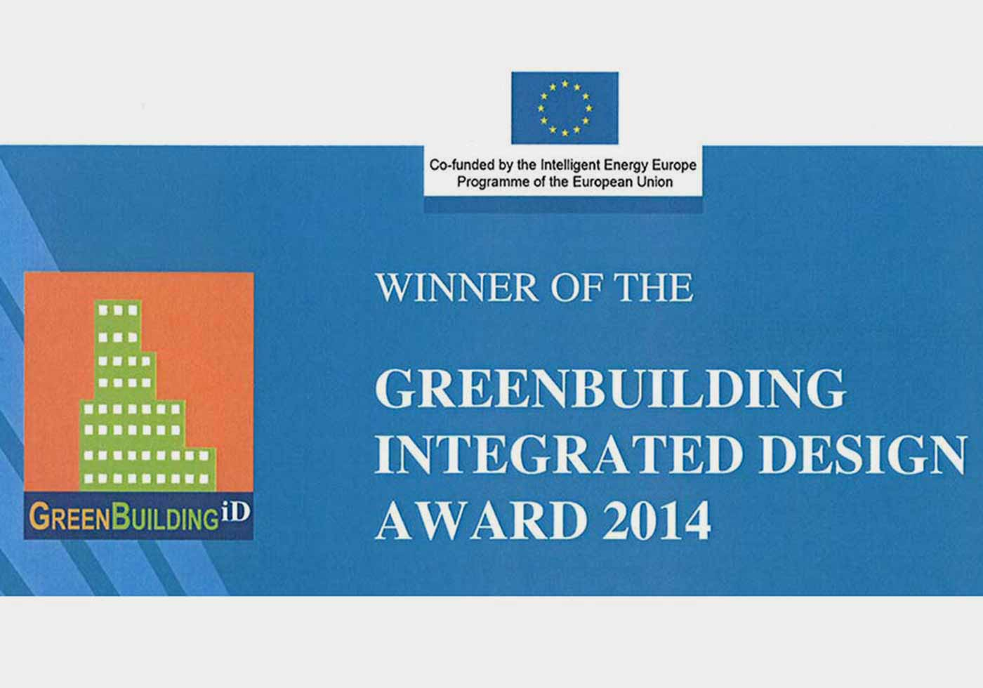 GreenBuilding Integrated Design Award (EU) 2014