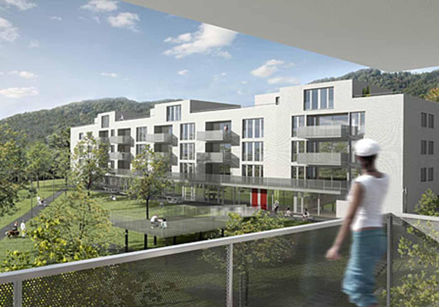 Поселение Kleeweidhof, Цюрих, Швейцария