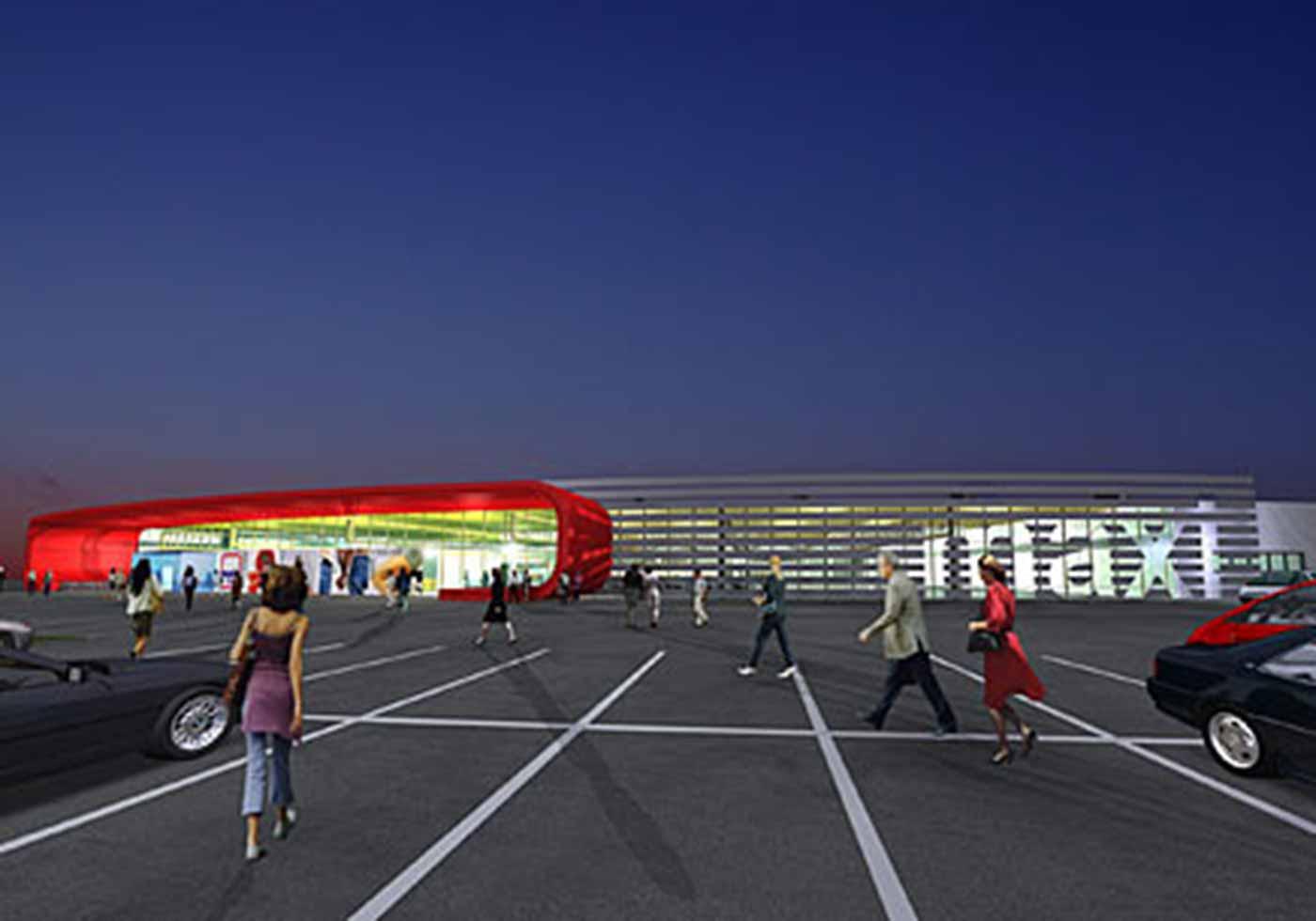 Торговый центр maxi markt - max center, Австрия