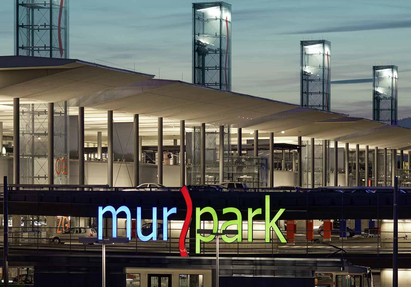 Торговая галерея Murpark, Грац, Австрия