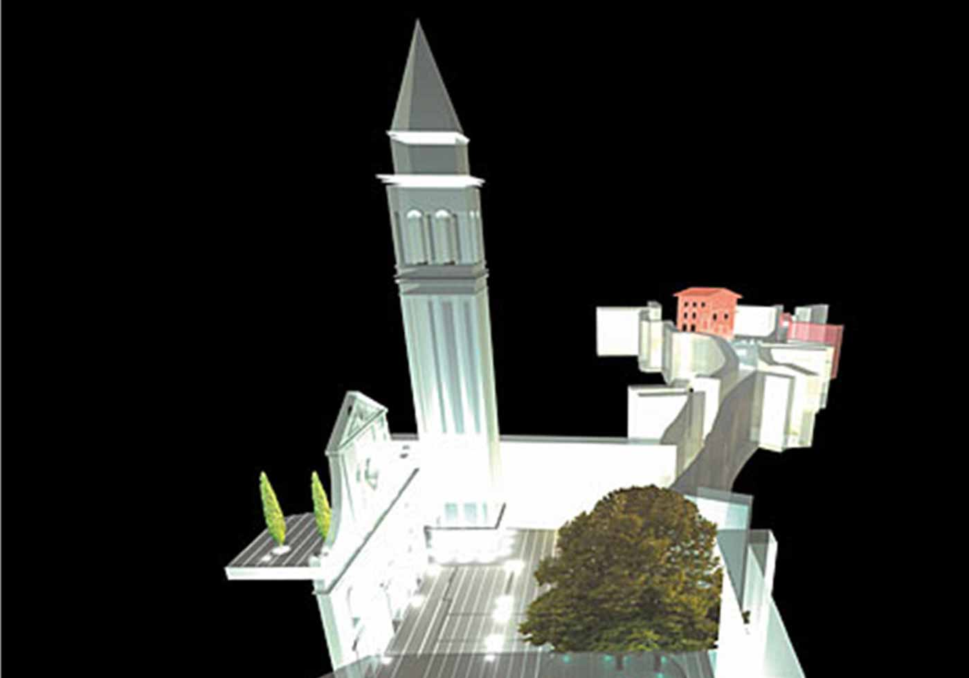 Градостроительство и оформление площадей, Воднян, Хорватия
