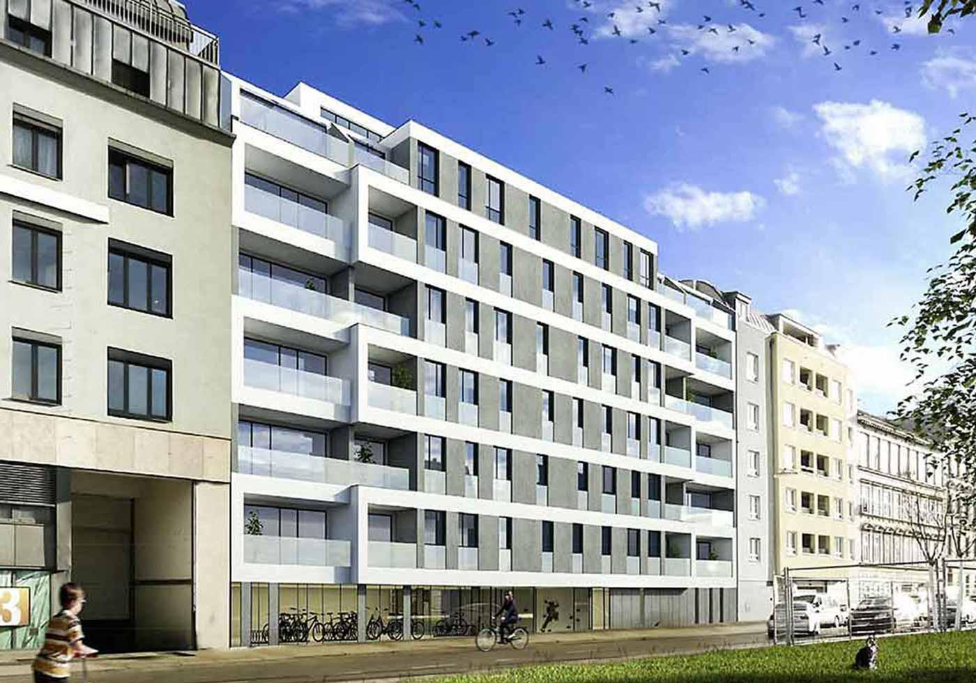 Residential Complex Rennweg/Aspangstraße, Vienna, AT