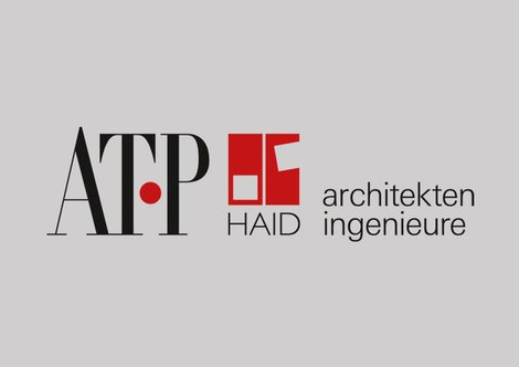 ATP HAID architects engineers Nuremberg. Logo: ATP