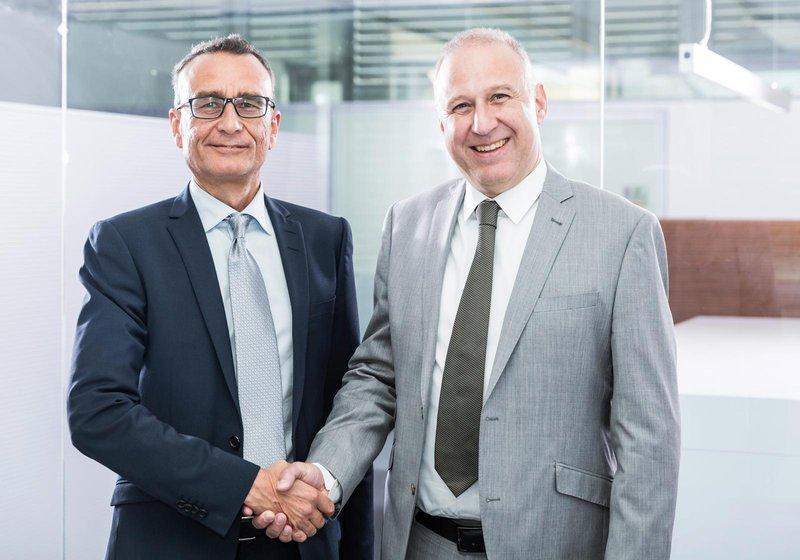 Андреас Ризер (слева) и Урс Клипфель (справа) возглавят новый филиал АТП в Нюрнберге. Фото: АТП/Раушмаер