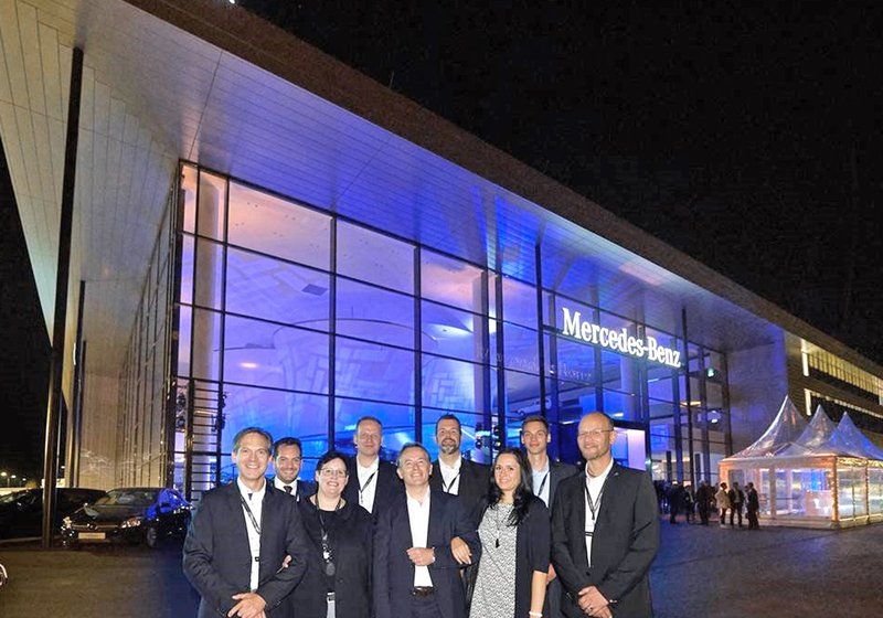 The ATP project team at the opening event. Photo: Mercedes-Benz