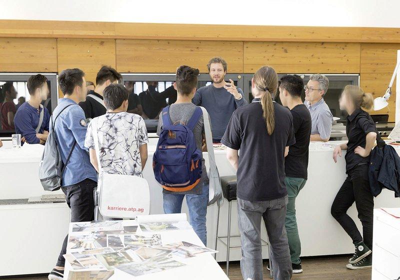 ATP Innsbruck lud zum Schnuppertag, um den Jugendlichen Zukunftsperspektiven zu zeigen. Fotos: ATP