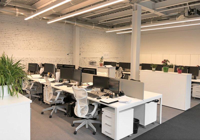 Das Großraumbüro ist perfekt auf die Anforderungen als Gesamtplanungsstandort abgestimmt. Foto: ATP