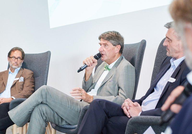 """Кристоф М. Ахаммер рассказал о """"цифровых двойниках"""". Фото: IG Lebenszyklus Bau/Лео Хаген"""